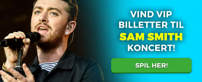 Vind Sam Smith koncert billetter